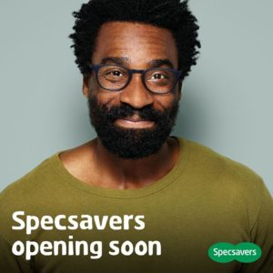 Specsavers opening soon