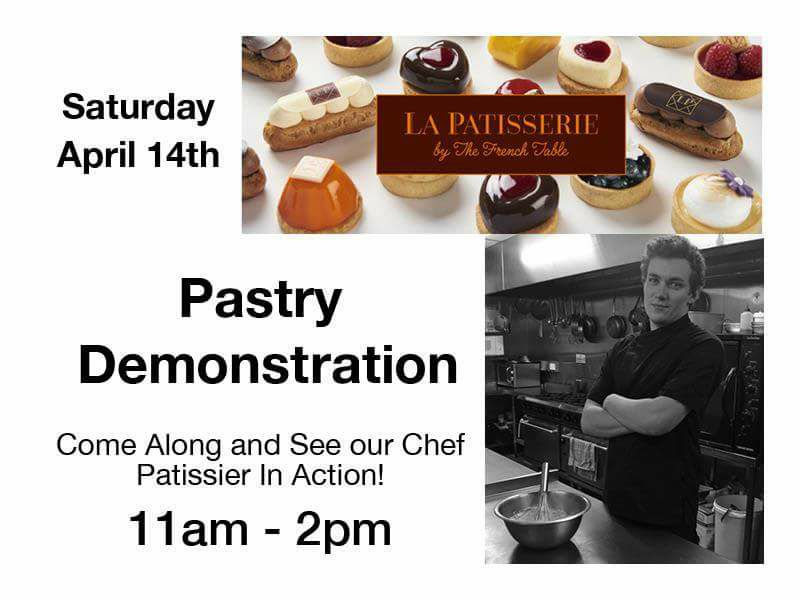 Pastry Demonstration