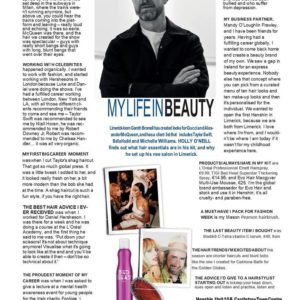 Image Magazine Interview with Gareth Bromell of Henshin Beauty Castletroy Town Centre