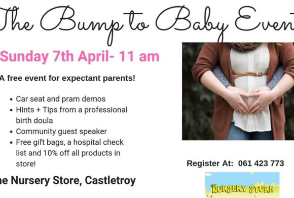 The bump to baby event