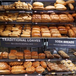 Amazing freshly baked breads at Supervalu