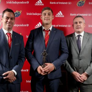 Munster Rugby name Dan Goggin Castletroy Town Centre Young Player of the Year